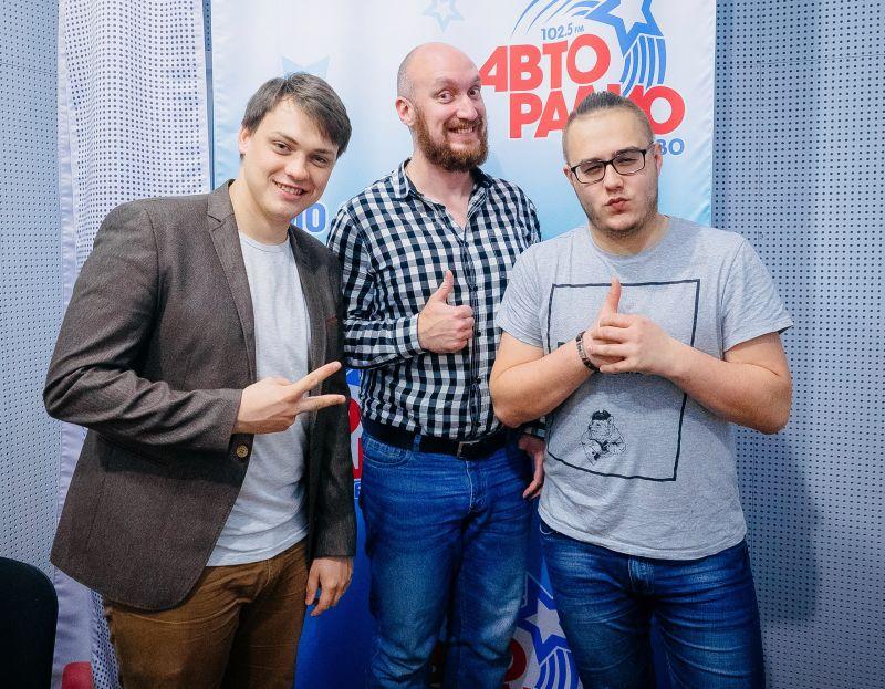 Николай Афиногенов, Владимир Дунаев и ведущий программы Михаил Шор